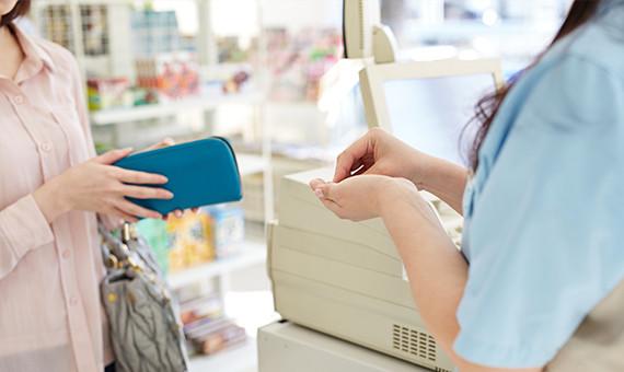 購入者様が商品の中身を確認後、コンビニ・銀行・郵便局で支払える安心・便利な決済方法です。